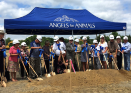 Angels break ground for new medical facility