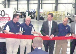 Pennex cuts ribbon on expanded facility